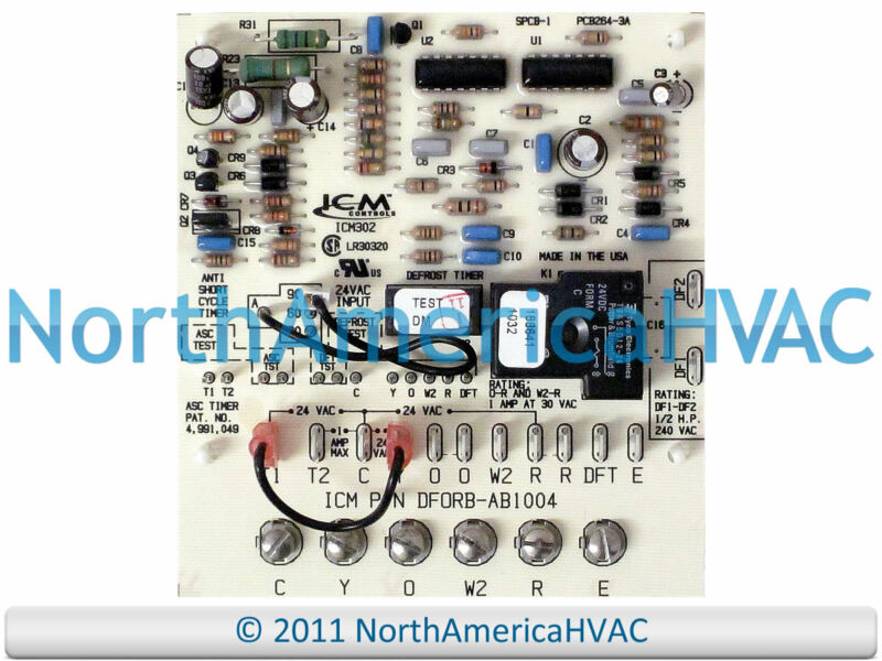 Intertherm Miller Defrost Control Board 917178 917178A