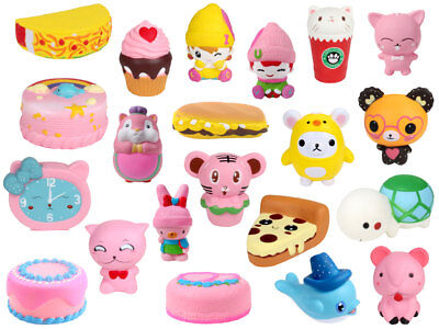 Anti Stress soft Spielzeug Slow Rising Kinder & Erwachsene (Squishies Spielzeug)