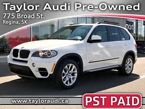2011 BMW X5 xDrive35i PST PAID, LOCAL TRADE, HEAD UP DISPLAY