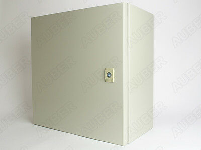 Wall-mount Enclosure For 4 Controllers 16x16x8 16 Gauge Free Us Shipping