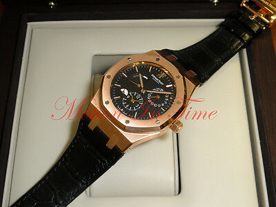 Audemars Piguet Royal Oak Dual Time Power Reserve Rose Gold 26120OR.OO.D002CR.01