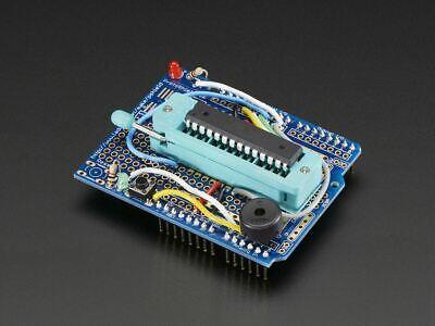 3dmakerworld Adafruit Standalone Avr Isp Programmer Shield Kit W Blank Chip