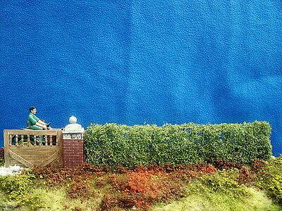 """Hecke """"Mannshoch"""" 1:32/35 Modell Landschaft für Diorama Zubehör Garten"""