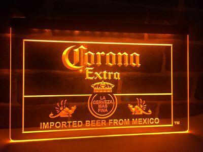 Corona Extra Beer Led Neon Light Sign Bar Pub Club Man Cave Advertise Decor Gift