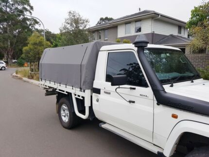 Single Cab Ute Canopy & ute canopy loaded with accessories | Other Parts u0026 Accessories ...