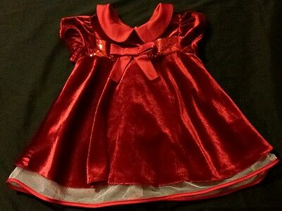 Baby Girl Size 6 9 Months Christmas Holiday Dress