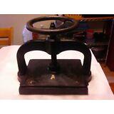 Vintage Antique Industrial Cast Iron Book Binding Press
