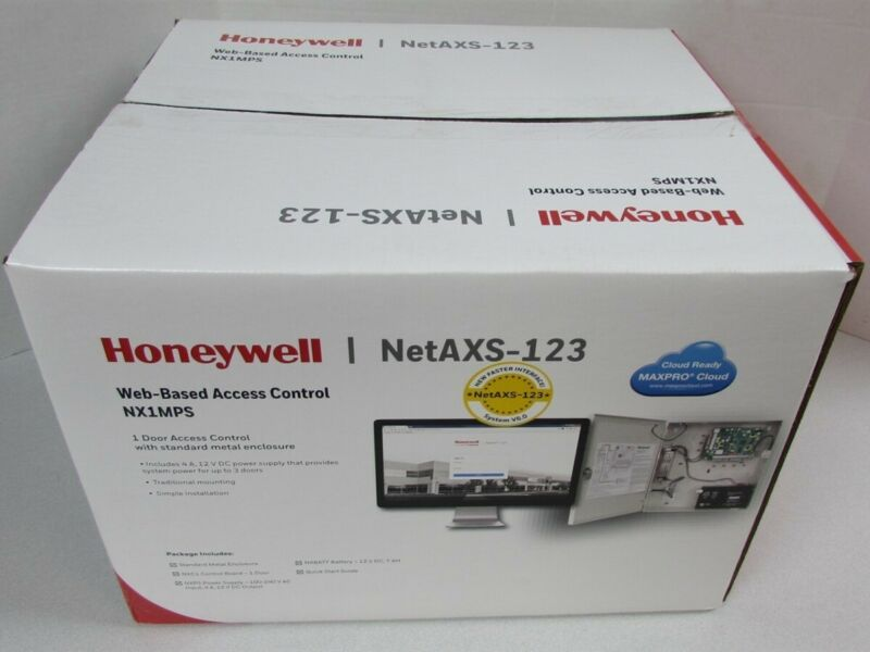 Honeywell NetAXS-123 NX1MPS One Door Web Based Access Control & Enclosure
