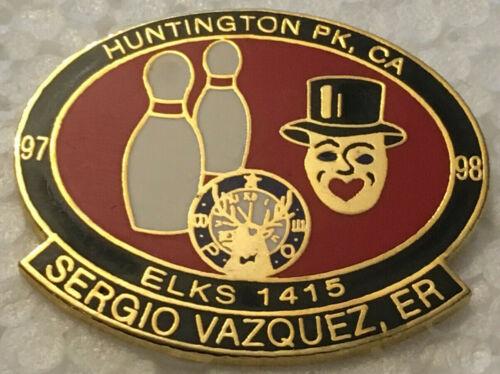 BPOE ELks  #1415, Huntington Park California, 1997-1998, Sergio Vazquez, ER