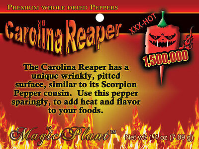 Carolina Reaper Peppers Crushed Reaper Pepper Flakes -Crazy Hot Pepper(5 sizes) (Crushed Peppers)