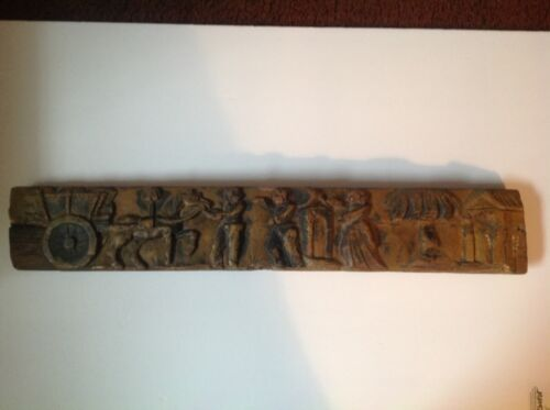 Beautifully Carved Wooden Plaque
