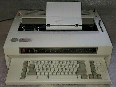 Ibm Wheelwriter 15 Series Ii 2 Lexmark Electronic Typewriter 6783 Tested