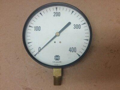 Nos Vintage Antique Us Gaugeheat Indicatortractorsteam Engine