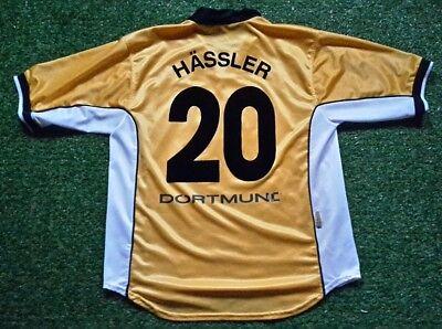 Borussia Dortmund Camiseta L 00 01 Nike Camiseta Jersey (20 Hässler)  S.Oliver 1d9d94d4c8387