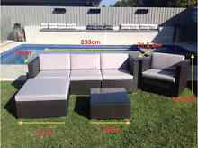6 piece rattan outdoor lounge set NEW Kingsgrove Canterbury Area Preview