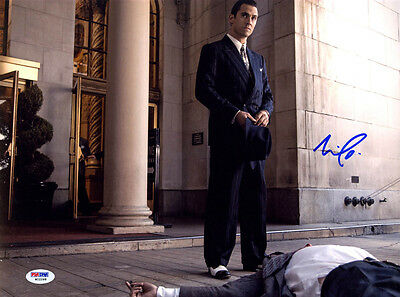 Milo Ventimiglia Signed 11X14 Photo Mob City Ned Stax Psa Dna Autographed