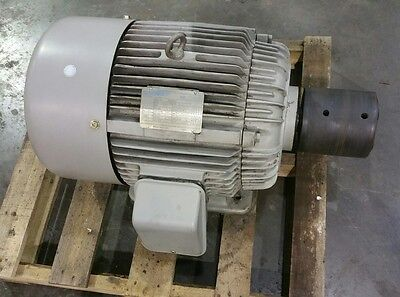 A.o. Smith 15 Hp 3 Ph At01506 Electric Motor 2070sr