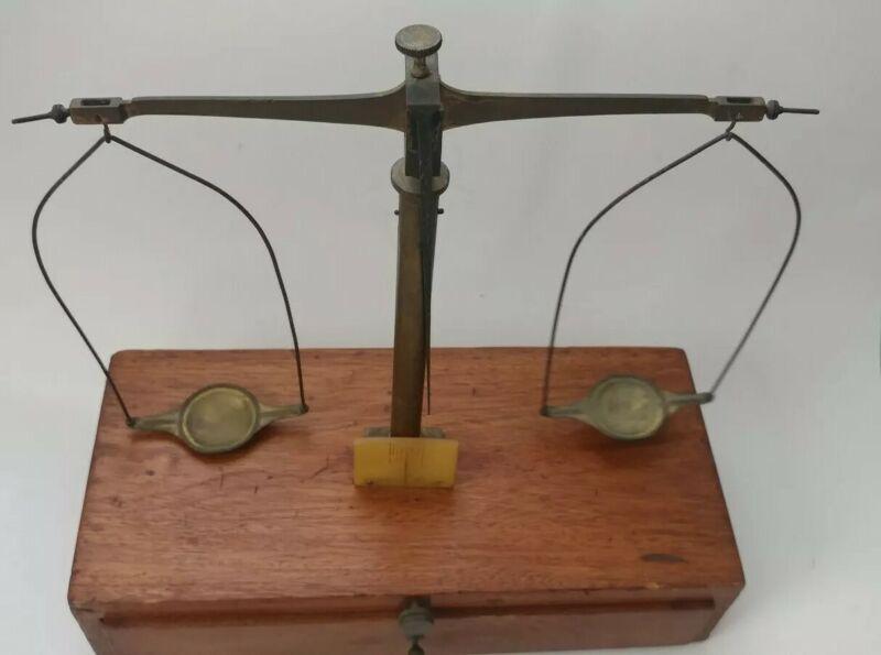 Antique Kohlbusch Balance Apothecary Scale