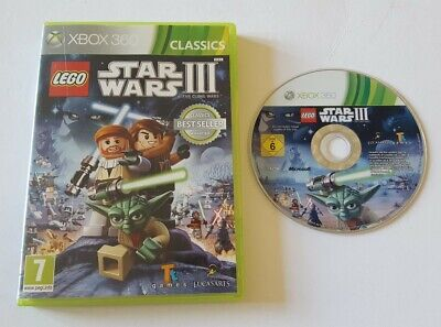 LEGO STAR WARS III 3 THE CLONE WARS XBOX 360 GAME KIDS CHILDRENS GIFT PRESENT