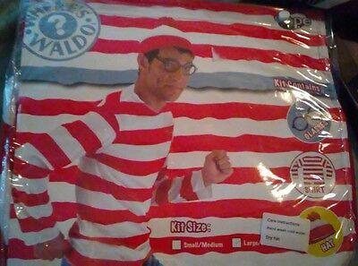 Wo Ist Waldo Halloween Kostüm Sz - Waldo Kostüm