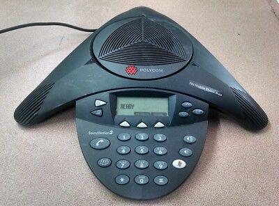 Polycom Soundstation 2 Expandable Conference Phone 2201-16000-601