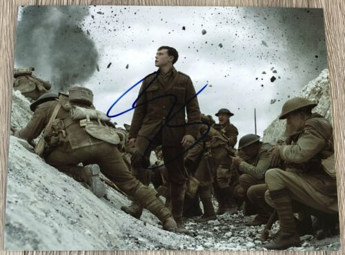 GEORGE MACKAY SIGNED AUTOGRAPH 1917 MOVIE 8x10 PHOTO w/EXACT PROOF