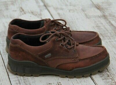 ECCO Track II Gore-Tex Low Boots Leather Work Shoes Sz 43 / 9- 9.5 Rtl