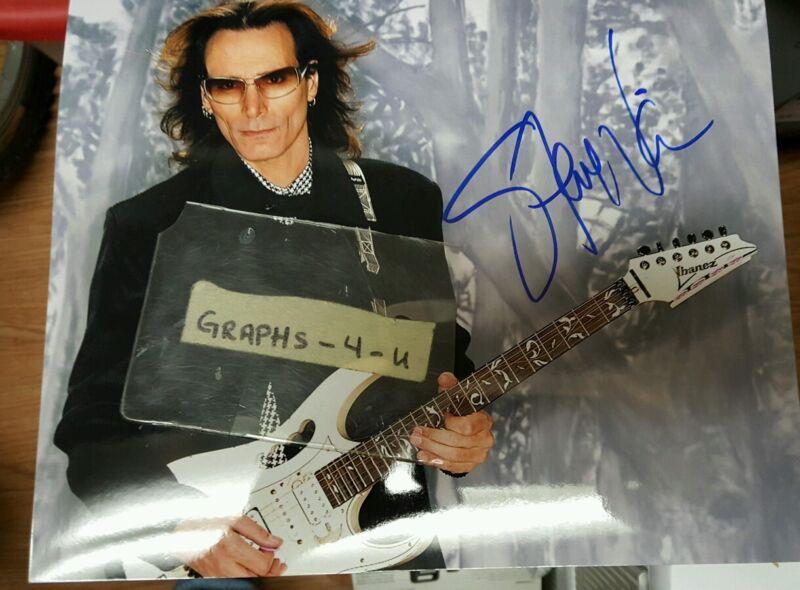Steve Vai Signed Autograph COA PROOF
