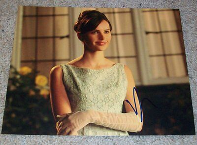 Felicity Jones Signed The Theory Of Everything 8X10 Photo B W Proof Autograph