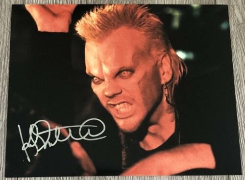 KIEFER SUTHERLAND SIGNED AUTOGRAPH THE LOST BOYS DAVID 8x10 PHOTO B w/PROOF