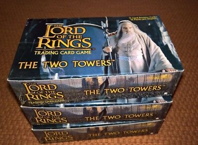 LOTR TCG The Two Towers - Booster Box 3x