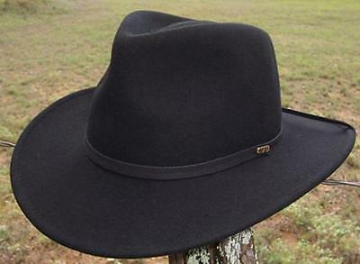 NEW Scala EVEREST CRUSHABLE Wool RAIN PROOF Outback EAR FLAPS Cowboy Hat DF55EL