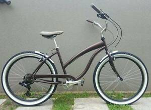 Rebuilt Custom Beach Cruiser Bike 7-speed with Brand New Parts North Balgowlah Manly Area Preview