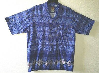 Sharp PINEAPPLE CONNECTION Best Brand Size XL Shirt with Pocket Rayon Korea