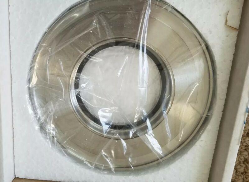 ISO 100 Vacuum Viewport, Zero Length, Stainless Steel Flange - NEW