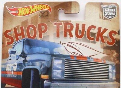 2018 Hot Wheels 50th Anniversary Car Culture Shop Trucks - (You Handpick)