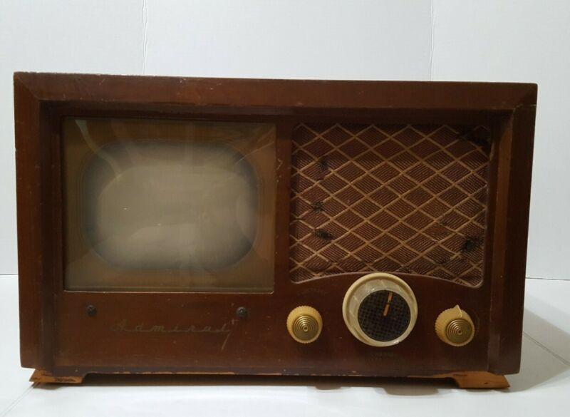 1949 Admiral 19A15 TV wooden case  35%off