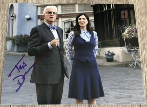 TED DANSON SIGNED AUTOGRAPH THE GOOD PLACE CHEERS 8x10 PHOTO E w/PROOF