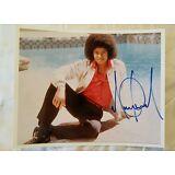 Michael Jackson autograph / signed 8 x 10 beautiful photo , w/ paas proof coa .