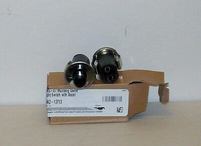 65-67 Mustang Door Jamb Switch interior lights stainless steel one switch&bezel