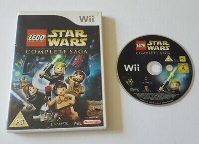 LEGO STAR WARS THE COMPLETE SAGA NINTENDO WII / WII U GAME KIDS CHILDRENS GIFT