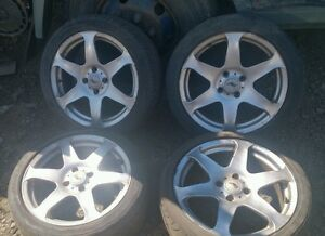 FORD MONDEO MK2 ST200,ST24,V6,TITANIUM X,GHIA AFTERMARKET ALLOY WHEELS 4X108 PCD
