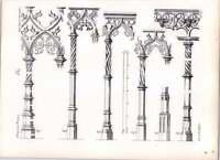 Gothic Lubeck Marienkirche Details Of Shafts Of Brass Screen Work -  - ebay.co.uk