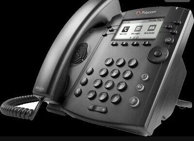 Lot Of 4 Polycom Vvx 311 Gigabit Hd Voice Business Office Ip Phones