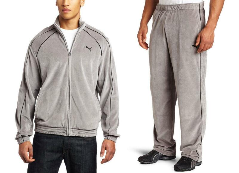 Mens Velour Jogging Suit Ebay