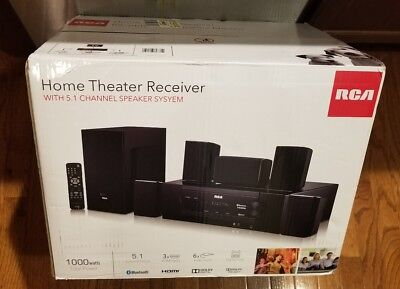 1000W Bluetooth Home RT2781HB Theater Surround Sound Speakers Dolby Digital 5.1
