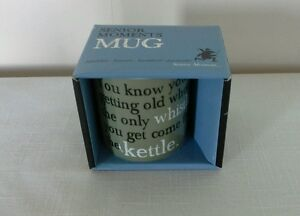 SENIOR MOMENTS MUG - BY PAST TIMES, BRAND NEW IN BOX