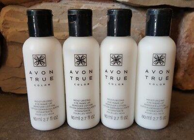 LOT OF 4 Avon Moisturizing Eye Makeup Remover Lotion
