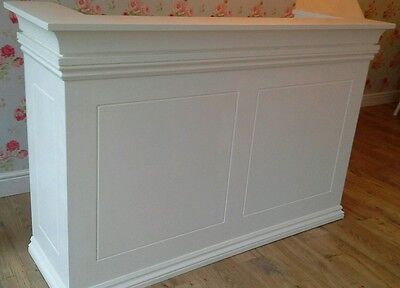 Reception desk with a draw, unPainted,XX Was £320 XX Now £270 XX FREE DELIVERY