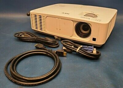 NEC, NP-PE401H Projector 4000 Lumens HDMI 720p 2000:1 1920x1080, 1608 Lamp Hours